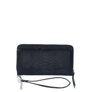 LouLou Essentiels SLB Sugar Snake RFID Wallet Black