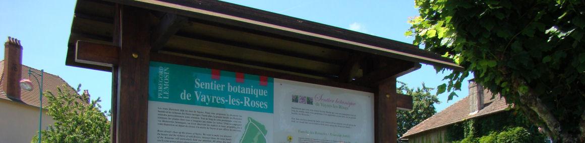 Vayres Sentier Botanique