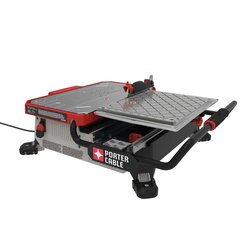 7 in table top wet tile saw pce980