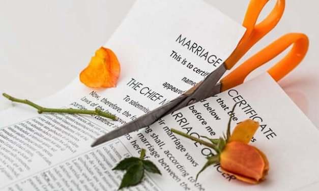 'Ons huwelijk strandde ongeveer tegelijk met de instorting van de woningmarkt'