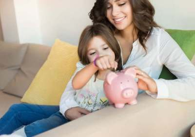 sparen, kinderen, kind, zakgeld, financiele opvoeding, nibud, spaargeld, spaarpot, porterenee