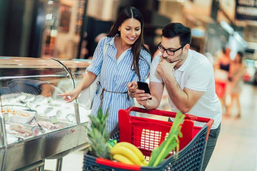 verleidingen supermarkt
