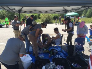 Twin Lakes Aid Station - Around Mile 40