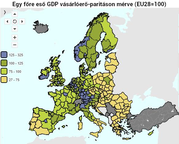 Magyarország az EU szegénységi toplistáján