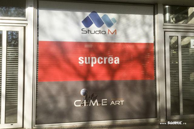 Adhésif Microperforé pour le Groupe SMI (Studio M) par SUDETIC