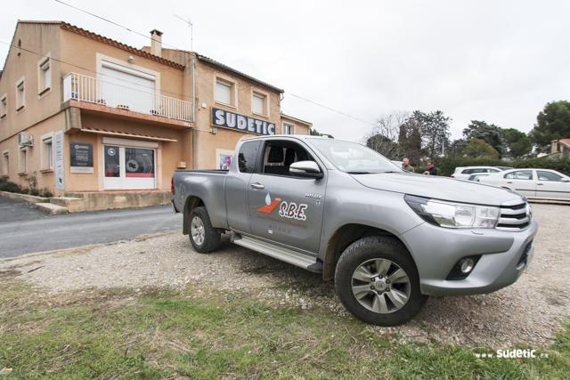 Décoration Toyota Hilux SBE par SUDETIC