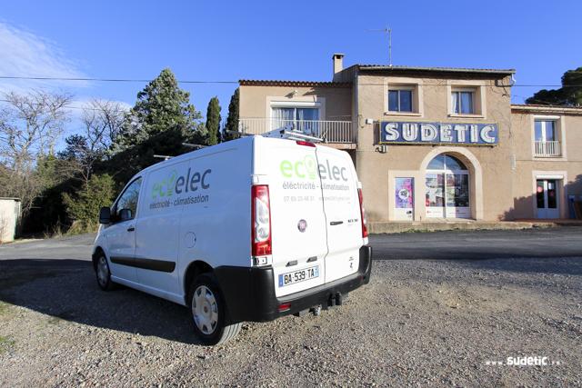 Décoration Fiat Scudo EcoElec par SUDETIC