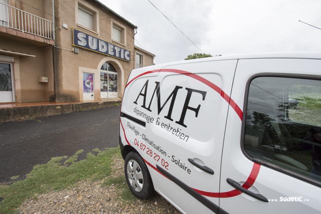Décoration Renault Kangoo AMF par SUDETIC