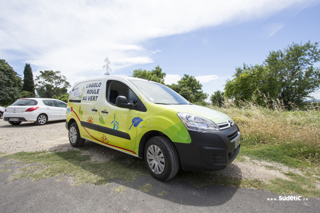 Total covering Citroën Berlingo Agglo Béziers Méditerranée par SUDETIC