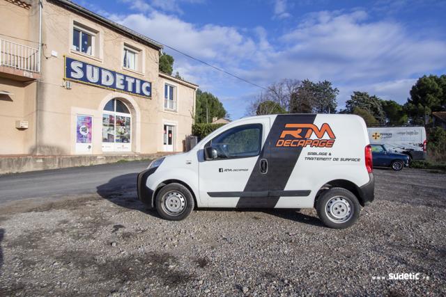 Décoration Citroën Berlingo et Nemo RM Décapage par SUDETIC