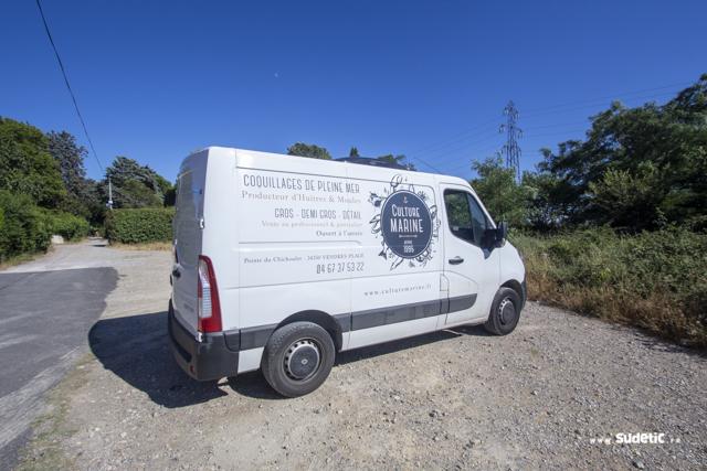 Décoration Renault Master Culture Marine par SUDETIC