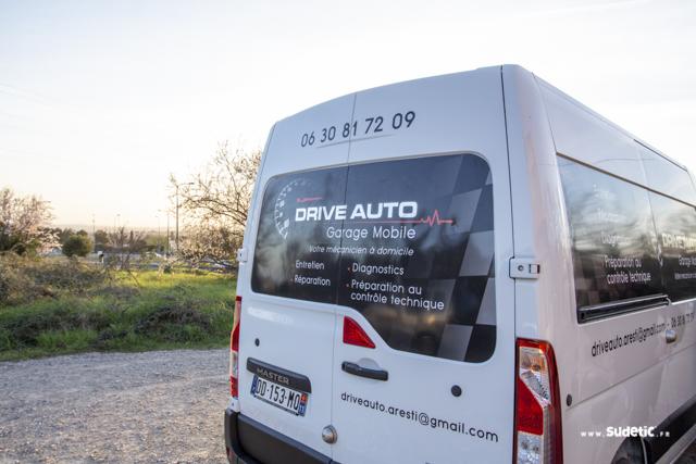 Décoration Renault Master Drive Auto par Sudetic