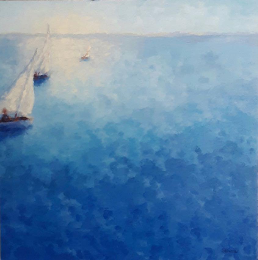 Sail Away Sydney Hall 30x30