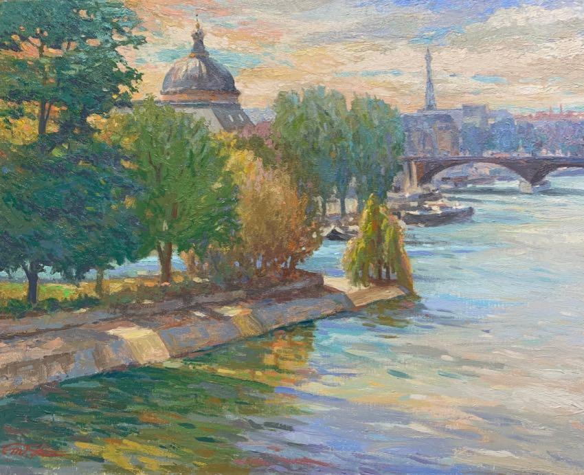 Sweet Paris Matthias Fischer 16x20 oil