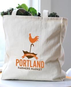 Portland Farmers Market Tote