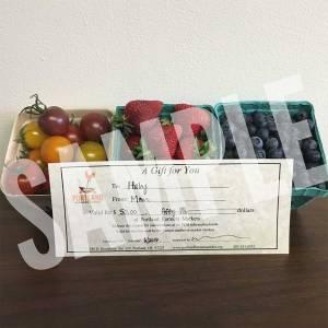 Portland Farmers Market Gift Certificate