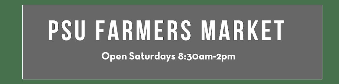 At Wednesday Farmers Market I Signed >> Portland Farmers Market