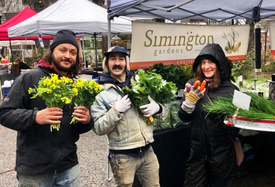 Simington Gardens staff at PSU
