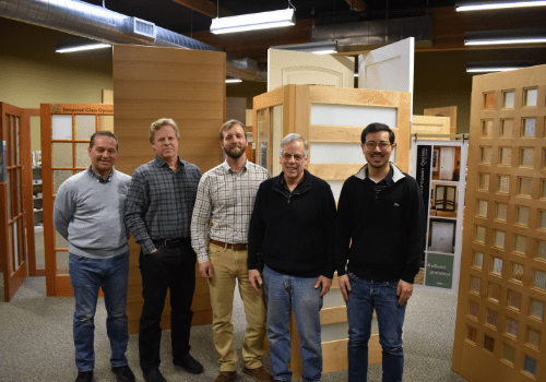 Portland Millwork Door Sales Team.
