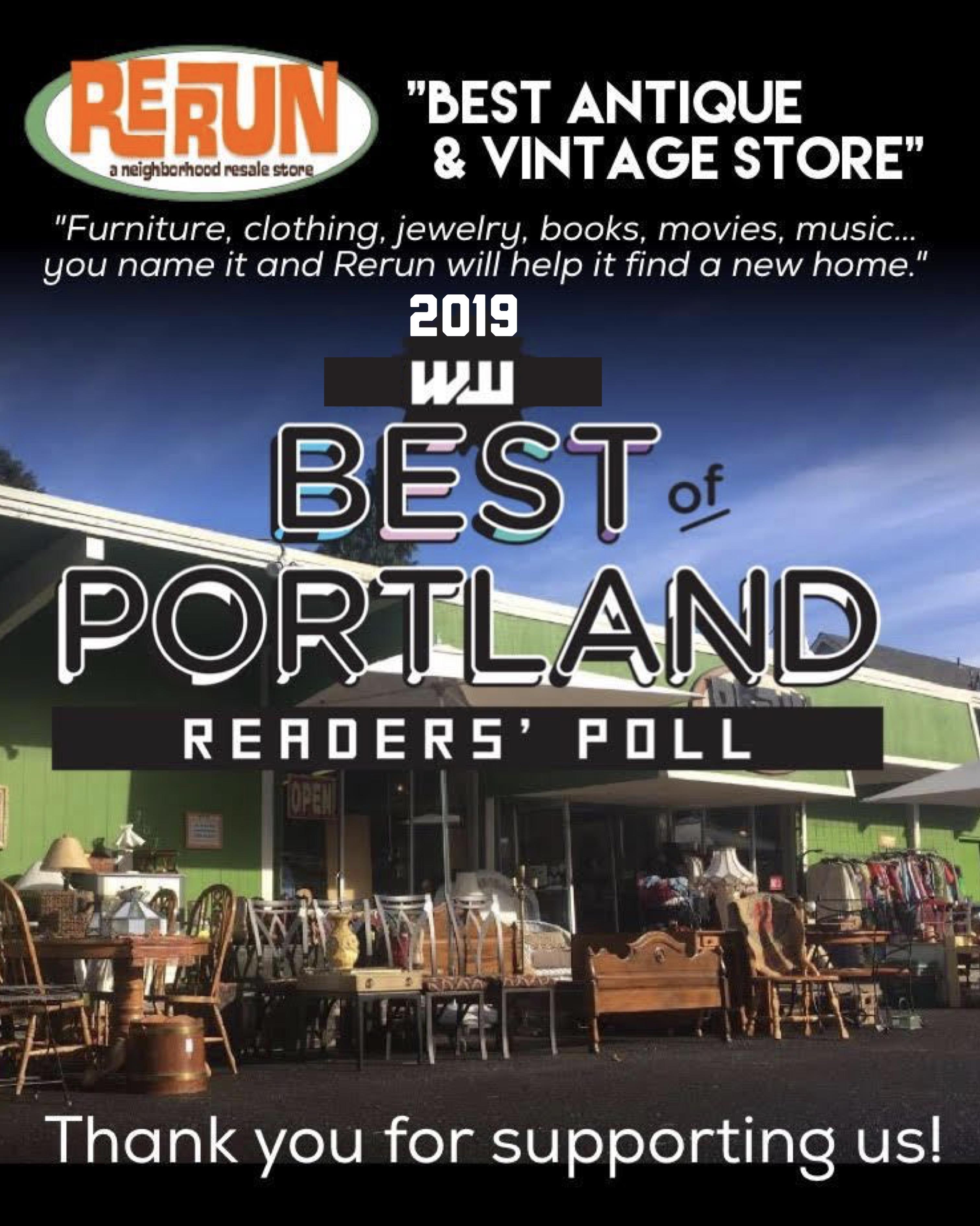Portland's Rerun | A Neighborhood Resale & Consignment Store