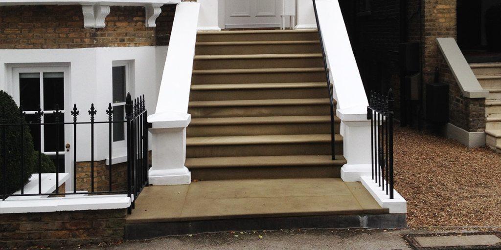 Yorkstone Steps London