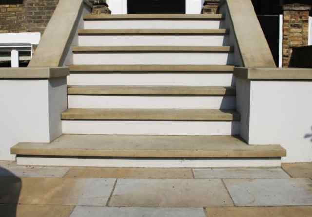 yorkstone steps