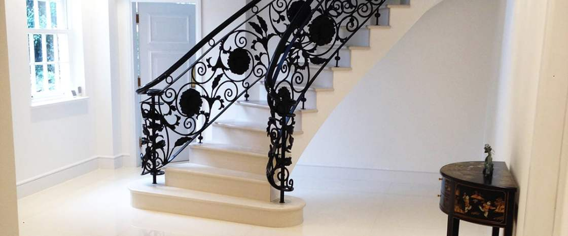 Portland Stone Stair Case