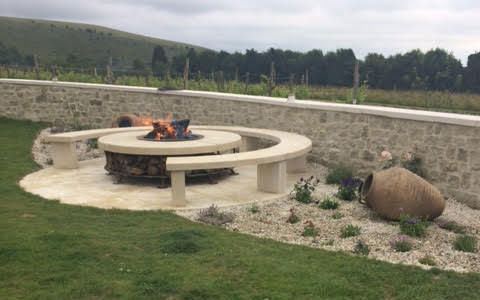 Natural Stone Fire Pit