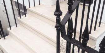 Portland Stone Front Steps London