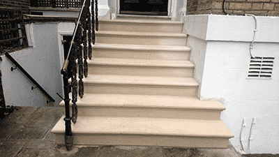 Bespoke Portland Stone Steps London