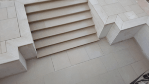 Cleaning your Portland Stone Steps