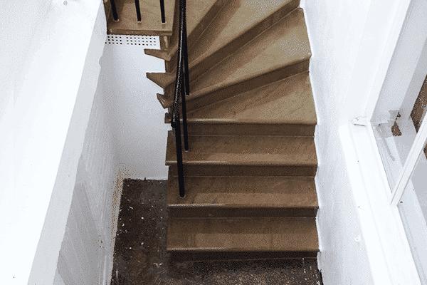 York Stone Basement Steps London