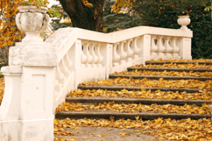 Caring for your stone steps this winter