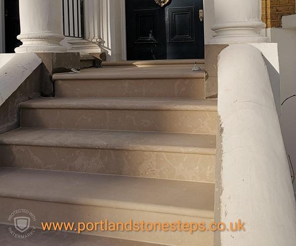 Portland Stone Steps Jan 1914
