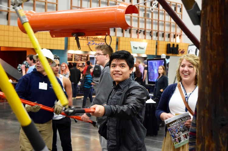 NW Youth Careers Expo 2016: PGE/PacifiCorp exhibit