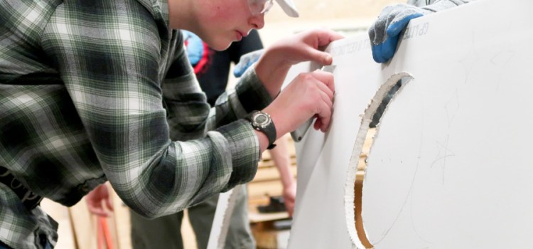 PACE Mentorship Program gives students hands-on experience in the trades