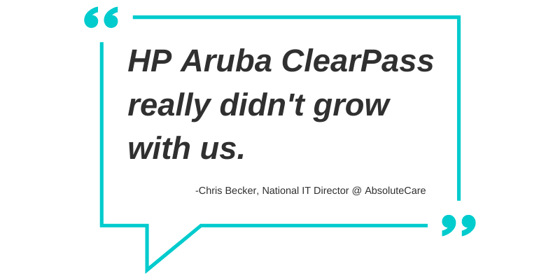 clearpass nac quote