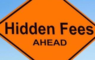 Hidden fees car rental