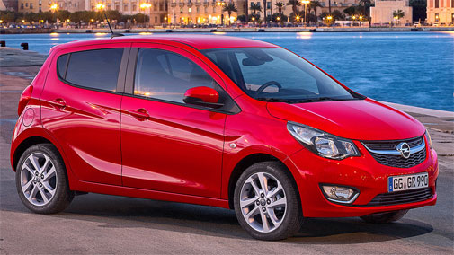 Opel Karl car rental
