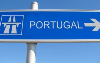 Street sign Portugal