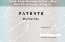 What is the Patente Municipal License Tax?