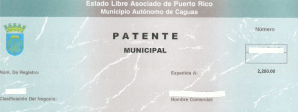 Patente Municipal Tax Rates in Puerto Rico