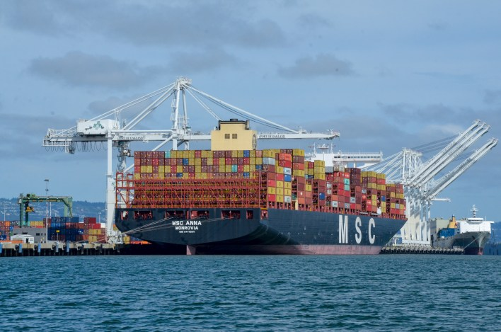 Biggest container cranes ever on the way to Port of Oakland | Port of Oakland