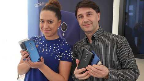 Alcatel predstavljanje Barcelona 2018 3 - MWC 2018 Barcelona: Alcatel 5, Alcatel 3, Alcatel 1