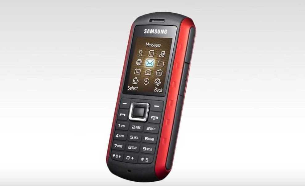 Samsung B2100 - Povijesni razvoj vodootpornih mobitela