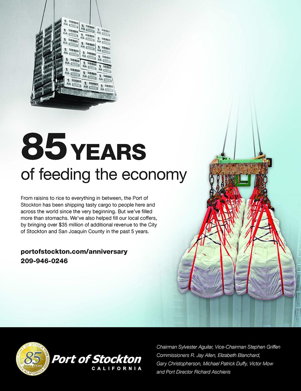 85 Years of Feeding The Economy