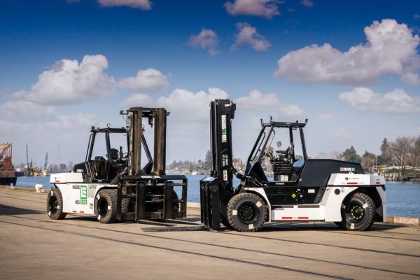 New electric forklifts