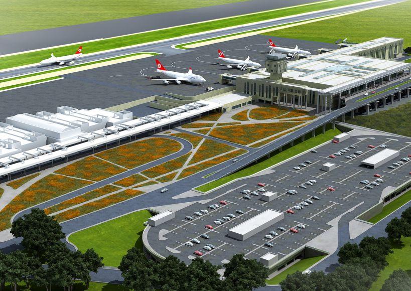 """البدء في تدشين مطار """"تشوكوروفا"""" في مدينة مرسين التركية"""