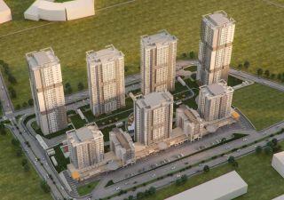 شقق للبيع  (PK-2103) ضمان حكومي Emlak Konut غرف من 1+1 إلى 4+1 في بهشا شهير