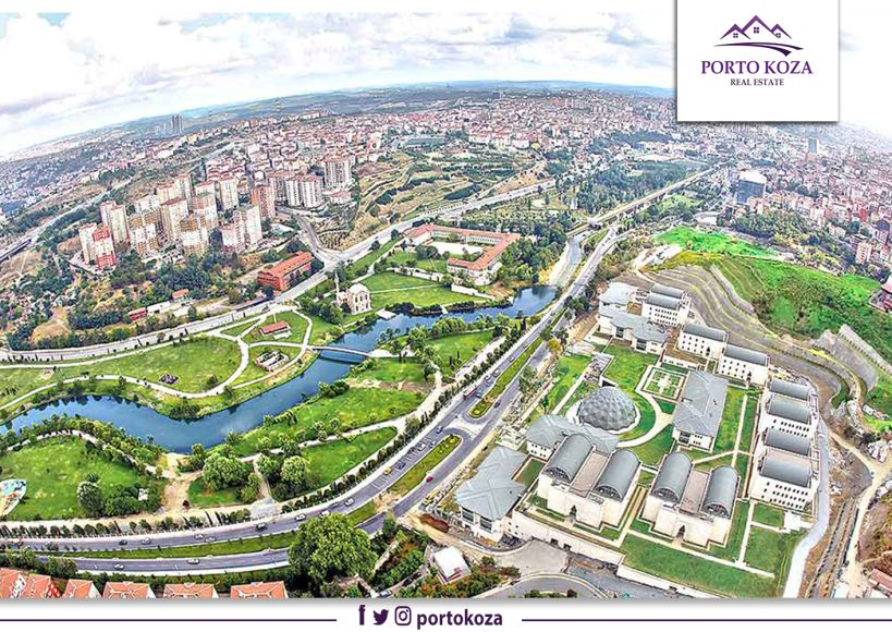 منطقة كاغتهانة Kağıthane في إسطنبول